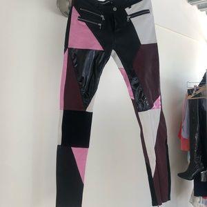 filles a papa Pants & Jumpsuits - Leather pants cut